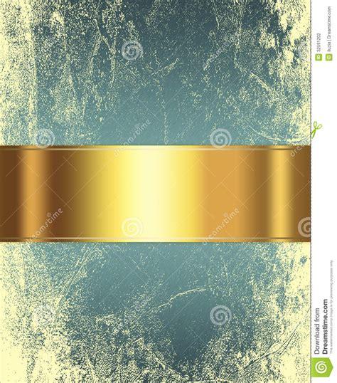 elegant gold  brown background stock illustration