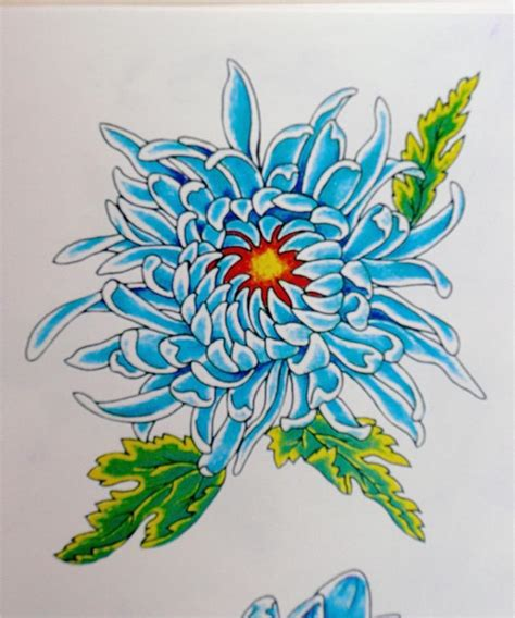 chrysanthemum flower tattoo designs chrysanthemum