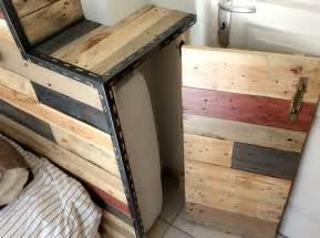 investissez votre chambre avec une t 234 te de lit en bois de