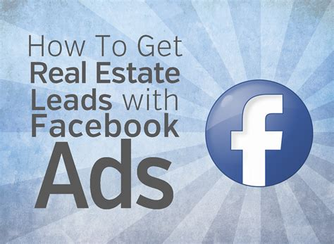 how to be a realtor facebook ads for real estate free guide to more leads