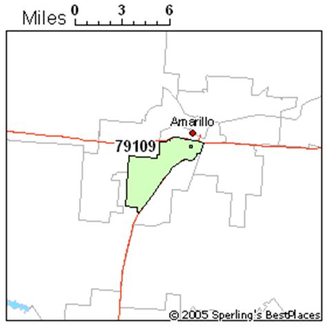 amarillo texas zip code map best place to live in amarillo zip 79109 texas