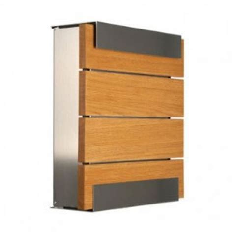 Contemporary Homes Designs by Wood Oak Post Box Letter Box Mailbox Woodoak