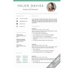 cv template 20 free word pdf documents download - Free Cv Templates Word Uk