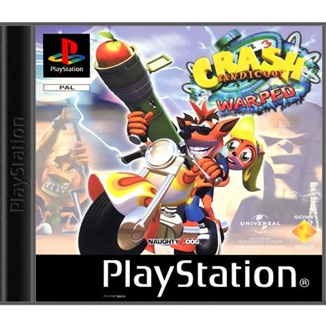 Motorrad Spiele F R Ps1 by Ps1 Sony Playstation 1 Crash Bandicoot 3 Warped Mit