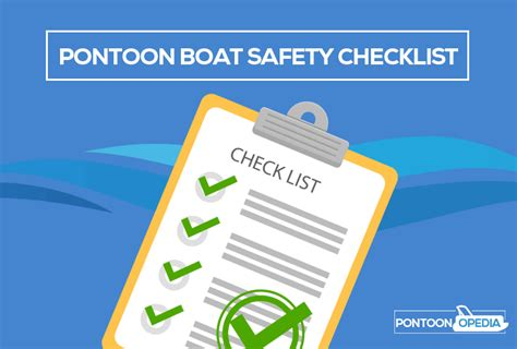boat safety gear checklist pontoon boat safety equipment checklist of things you need