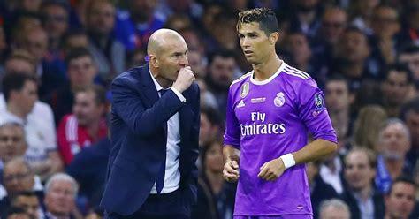 ronaldo juventus bid zinedine zidane makes call to cristiano ronaldo in bid to keep superstar at real madrid