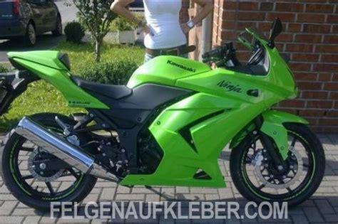 Felgenaufkleber Motorrad Anbringen by Felgenrandaufkleber Und Felgenaufkleber F 252 R Kawasaki