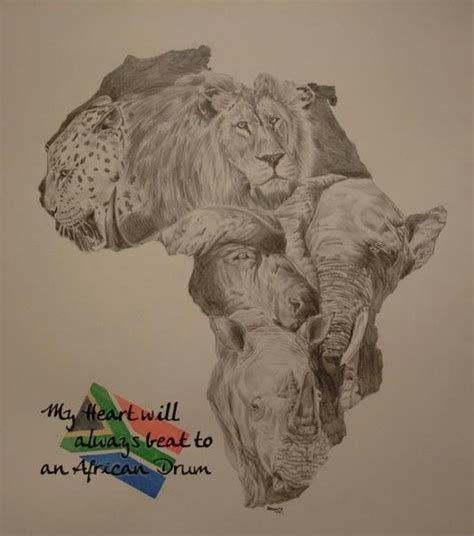 Big 5 Sketches by Big Five Of South Africa By Maikart24 On Deviantart