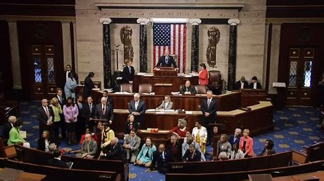 house of representatives control senate blocks one of 2 proposals on gun sales to people on terror lists rt america