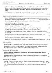 Chemistry Resume Sle by Chemical Engineering Related Resume Sales Engineering