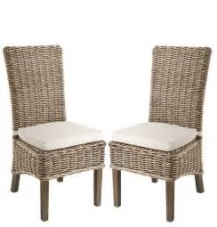 Wicker Dining Chairs Rowico Lulworth Grey Wash Rattan Dining Chair Living Dining Inspire Interiors