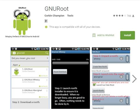 linux on android how to install linux on android phone without rooting