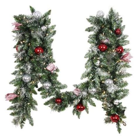 home accents holiday 12 ft battery operated frosted