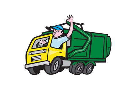 Garbage Truck Clipart trash truck clipart clipart suggest