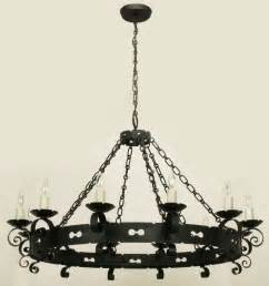 Large Wrought Iron Chandeliers Lightolier Large Revival Wrought Iron Chandelier At 1stdibs