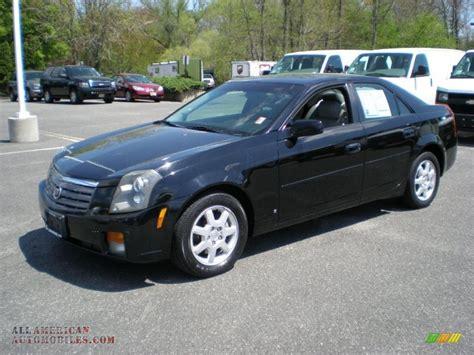 2006 cadillac cts sedan in black 102891 all