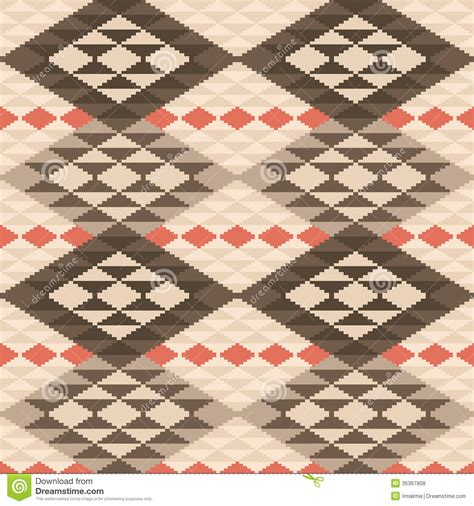 seamless rug pattern abstract geometric ethnic rug pattern stock vector image