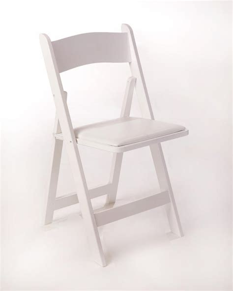 White Wedding Chairs by Columbia Tent Tables Chairs