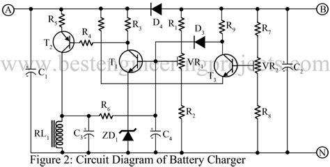 12 volt battery charger circuit diagram circuit diagram of 12v battery charger
