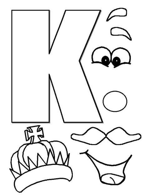 letter k template 17 best ideas about letter k crafts on letter