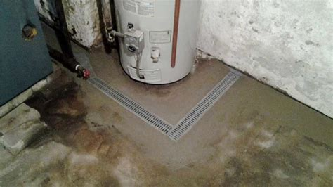 Basement Floor Drain Problems by Quality 1st Basement Systems Basement Waterproofing