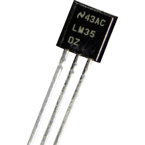 Lm35 Lm35dz Lm 35 temperature sensor b b thermo technik lm 35 dz 0 up to 100 176 c t from conrad