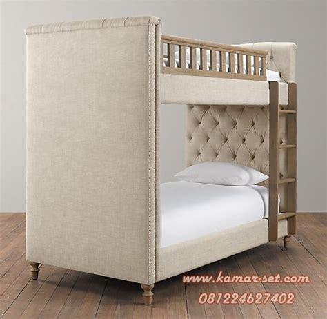 Tempat Tidur Elegan tempat tidur susun mewah anak perempuan laki laki murah