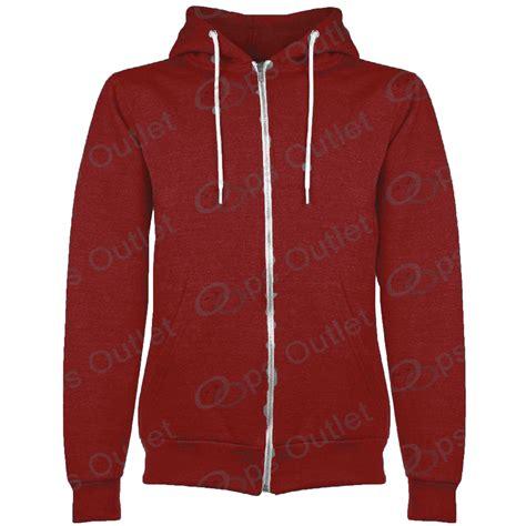 Basic Jacket Hoodie Unisex With Zipper Available In 16 Colou 1 boys unisex plain fleece hoodies zip up style zipper age 7 13 years ebay