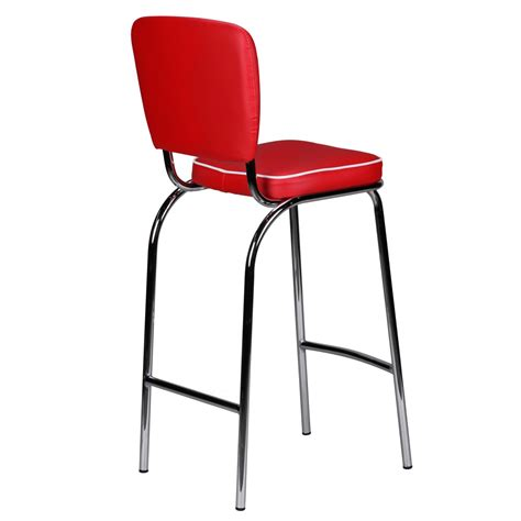 american diner bar stools finebuy barstool american diner 50s retro red white bar