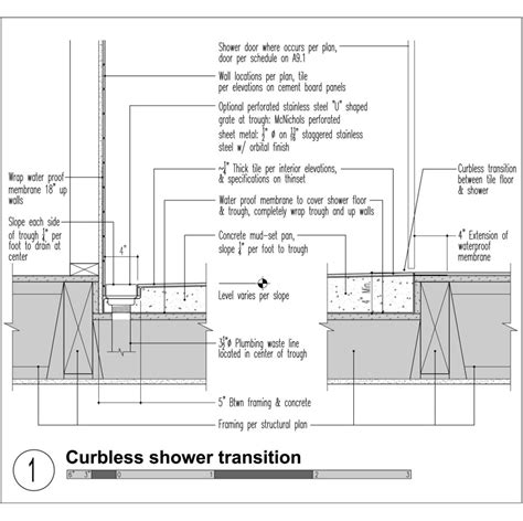 property details for quot 2 bd 2 bath the exchange at brier mastering the curbless shower custom home magazine