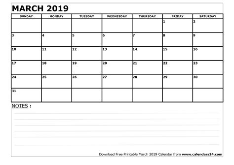 Calendar 2019 March March 2019 Calendar April 2019 Calendar