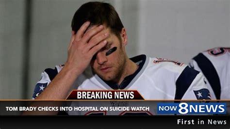 Brady Background Check Tom Brady Checks Himself Into Hospital On After Losing Afc Chionship