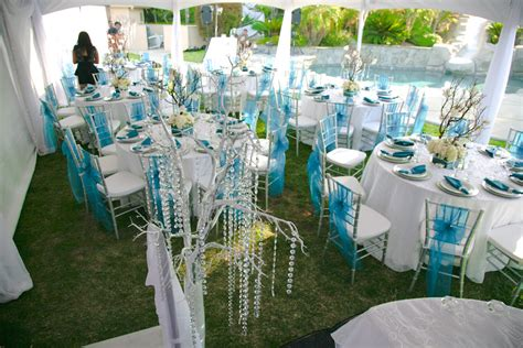 turquoise and silver wedding colors