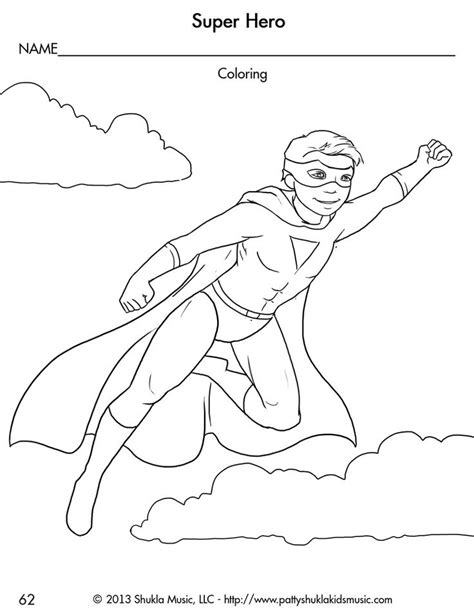 superhero coloring pages preschool 56 best heros images on pinterest superhero activities