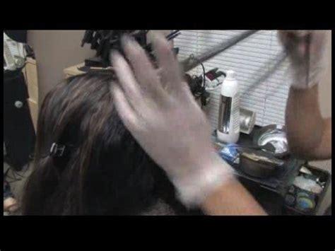 hair color application techniques hair color mixing application techniques applying