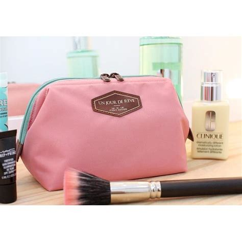 un jour de reve tas kosmetik travel portabel pink jakartanotebook
