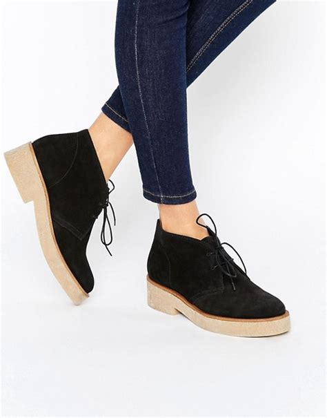 asos asos alva suede lace up ankle boots