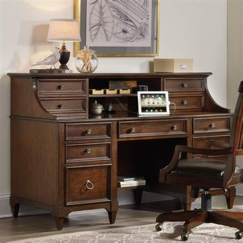 inval credenza computer workstation desk with hutch riley computer credenza with locking file drawers drop