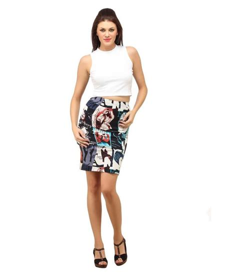 buy cation multi coloured pencil skirt at best