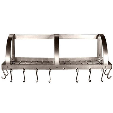 Stainless Pot Rack Wall Mount Pot Racks Stainless Steel Wall Mounted Pot Racks By Hsm