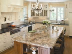 Affordable Kitchen Countertop Ideas by Granite And Laminate As Kitchen Countertop Materials