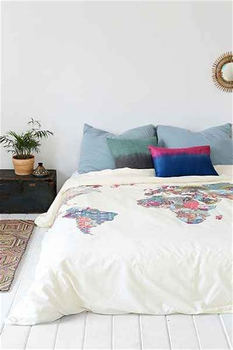 urban bedding world map duvet cover from urban outfitters favething com