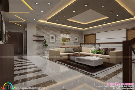 homes with modern interiors most modern kerala living room interior kerala home