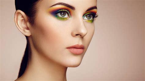 makeup beauty how to wear rainbow eye makeup l or 233 al