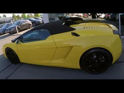 300 Km H Lamborghini by Lamborghini Gallardo Jahrescheck 300 Km H Auf Der