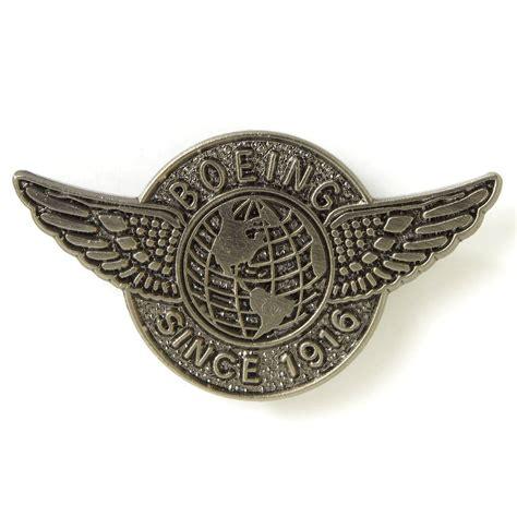 Pin Wings Security Boeing Global Wings Pin