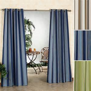 Outdoor Gazebo With Curtains Gazebo Stripe Indoor Outdoor Curtain Panels