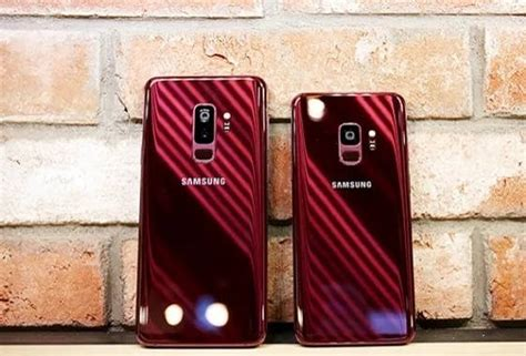 jaw dropping burgundy red galaxy