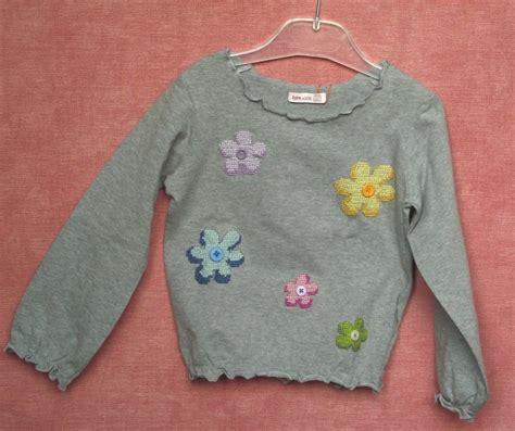 maglia a fiori maglia bimba con fiori bambini abbigliamento di