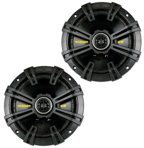 kicker car audio css cs series     component speaker set  titanium tweeters